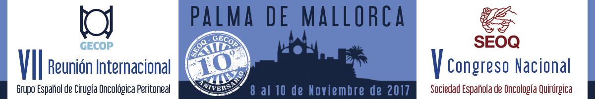 V CONGRESO SEOQ y VII REUNIÓN GECOP 2017. Palma de Mallorca 8 al 10 de noviembre 2017